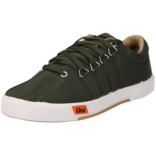 Unistar Casual Canvas Shoes Shoes; 5001-Meh(Olivegreen)-9