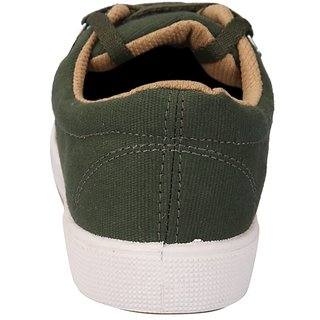 bf948f48d160 Buy Unistar Casual Canvas Shoes Shoes; 5001-Meh(Olivegreen)-9 Online - Get  14% Off