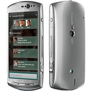 New Full Housing Body Panel - Sony Ericsson NEO V MT11i - Silver