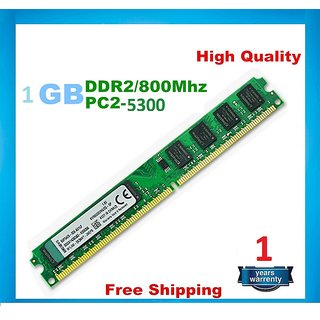 HYNIX DDR2 1GB 800 Mhz (8-BIT ) / 5300U DESKTOP RAM WITH 1 YEAR WARRANTY