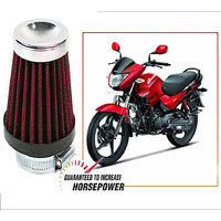 Capeshoppers Big Hp High Performance Bike Air Filter For Hero Motocorp Glamour