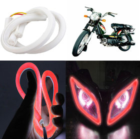 Capeshoppers Flexible 30Cm Audi / Neon Led Tube For Tvs Super Xl S/S- Red