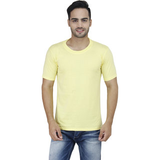 Stylogue Solid T-Shirts For Men'S (STYLOGUEGRAPHICJUNKIE4)