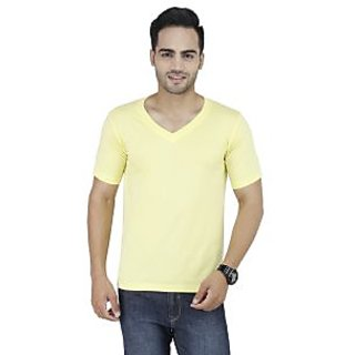 Stylogue Solid T-Shirts For Men'S (STYLOGUEGRAPHICJUNKIE11)