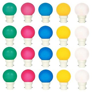 Vrct Lighting 0.5 W Deco Led Bulb Set Of 20