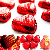 ASSORTED HEART SHAPED HOMEMADE CHOCOLATES(500 Grams)-VALENTINE'S DAY GIFT