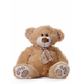 Teddy Bear with Check Scarf
