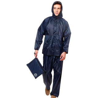 Duckback Rainwear Navy Blue