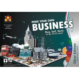 Toy Box - Mind Your Own Business Silver