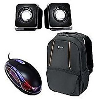 Buy Combo Offer - Laptop Bag With Optical Mouse Speaker Online - Get ... b4119e97583