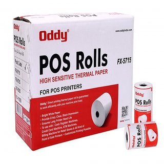 Oddy Thermal Paper Roll (Set of 96 Rolls)