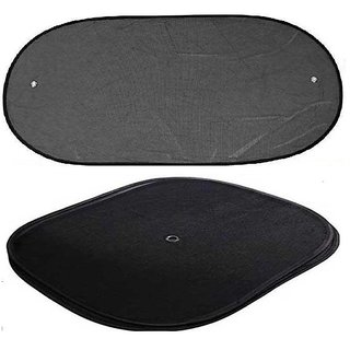 Takecare Car Side And Rear Window Black Sun Shades For Fiat Punto Evo