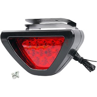 Car/Bike Triangle Back LED Light RED