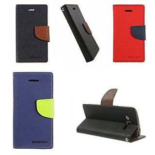 Grand 2 Mercury Wallet Flip Case Mobile Cover for Samsung Galaxy Grand 2 Goosper