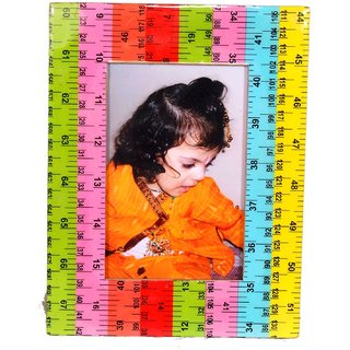 Aahum Sales Handmade Photoframe with made of wooden Scale material