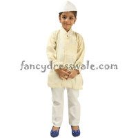 Pandit Jawahar Lal Nehru Fancy Dress Costume For School