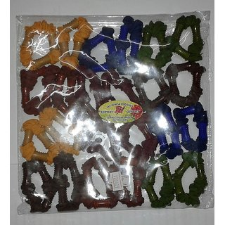 HAIR RUBBER BANDS with butterfly style with multiple colors