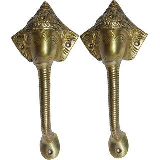 Nayahub Brass Door Handle Set