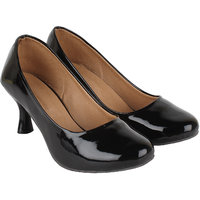Authentic Vogue Black Patent Heel Bellies