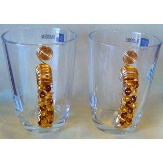 designer fancy glass mugs