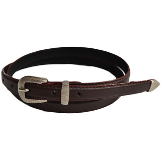 kyWays suave sleek Belt for Her In Mocha Brown BLW5BRN