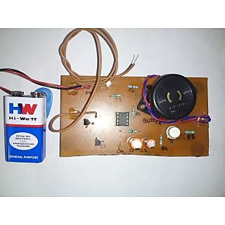Door Knob Touch Alarm System - DIY Assembled Kit Electronics Project