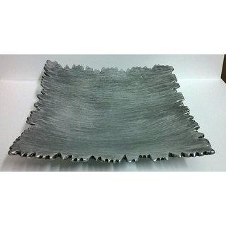 Exclusive Aluminium Square Platter Serving Platter