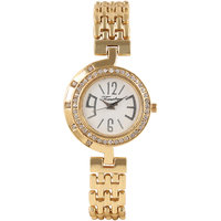 Timebre Magnetic Women Gold Diamond Party Watch