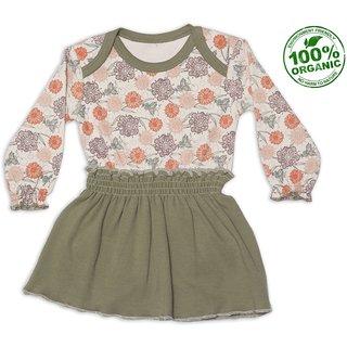 Nino Bambino Organic Cotton Onesie Dress
