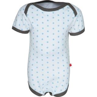 Nino Bambino Organic Cotton Lap Shoulder Bum Patch Bodysuit