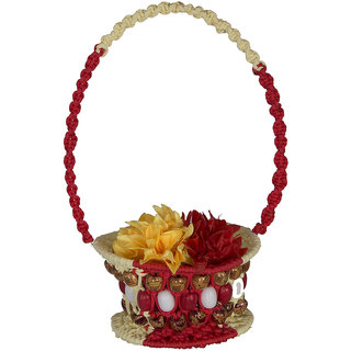 Macram Fruit and flower basket