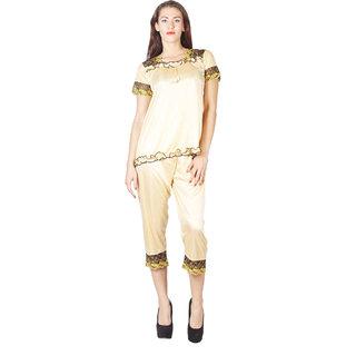 Luvia Two Piece Golden Elegant Shorties
