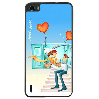 Instyler Digital Printed Back Cover For Huawei Honor 6 HwH6Ds-10062