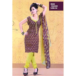 215e7f0880fc Mahe Crepe Chudi Material Prices in India- Shopclues- Online ...