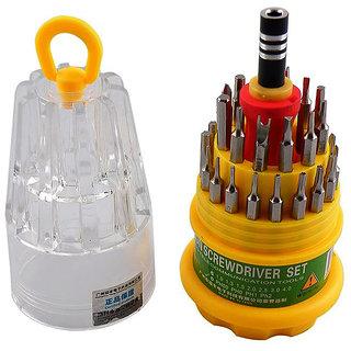 SHOPTUMOR 30 in1 Multi-Function Repair Tools Screw Driver Kit