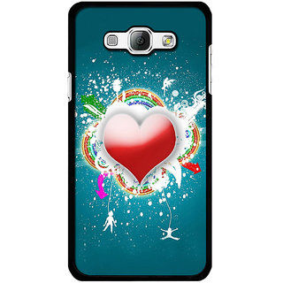 Instyler Digital Printed Back Cover For Samsung Galaxy A8 SGA8DS-10048