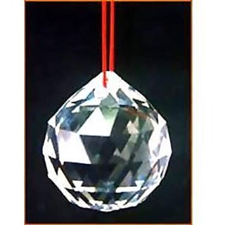 Astrology Goods New Crystal Ball With Red String (15 Mm) Of Hanging Feng Shui 65