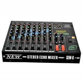 MEDHA PROFESSIONAL 8 CHANNEL STERO ECHO MIXER