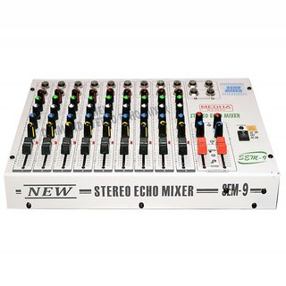 MEDHA PROFESSIONAL 9 CHANNEL STERO ECHO MIXER