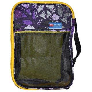 Cropp Toiletries Kit Bag Soft Made Black - Print