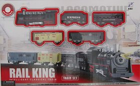 Rail King Classic Toy Train Multi Layout Track Set