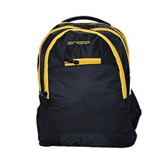 Cropp Exclusive Haversack, Soft Nylon Made Color-Black