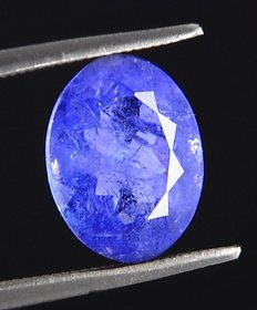 ruchiworld 3.38 Ct Natural Tanzanite Gemstone