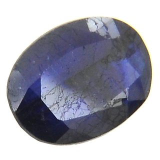 ruchiworld Indian Mines 5.28 Carat Natural Blue Sapphire Gemstone