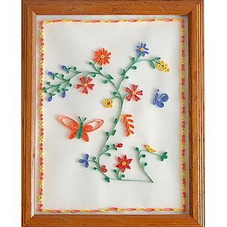 Super Quilling Art Decorative Frame