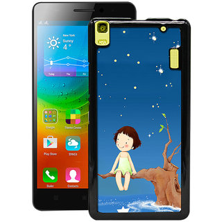 Instyler Digital Printed Back Cover For Lenovo A7000 LENA7000DS-10041