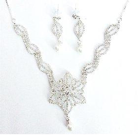 Pari Ad Necklace Setey-112 (Silver)