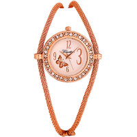 Timebre Bright Women Rose Gold Bracelet Watch