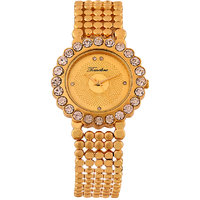 Timebre Traditional Women Gold Bracelet Watch