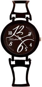 Timebre Festive Women Black Bracelet Watch